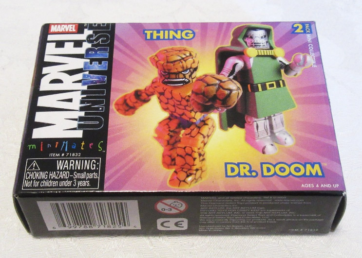 Doctor Doom & The Thing Marvel Minimates Series 5