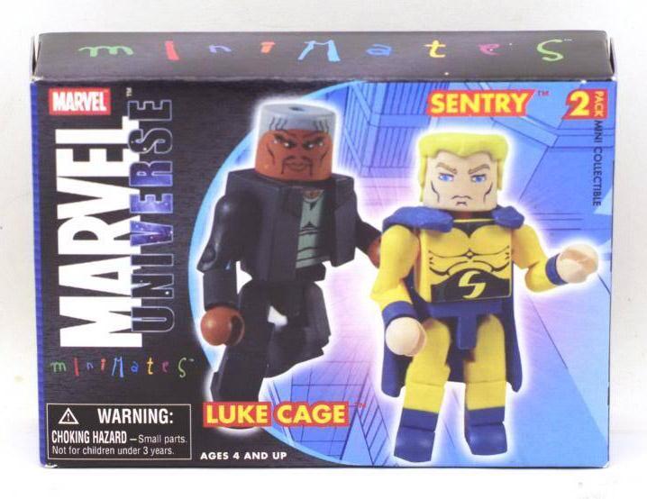 New Avengers Luke Cage & Sentry Marvel Minimates Series 12