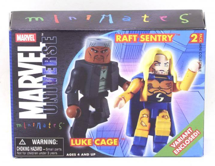 New Avengers Luke Cage & Raft Sentry Variant Marvel Minimates Series 12