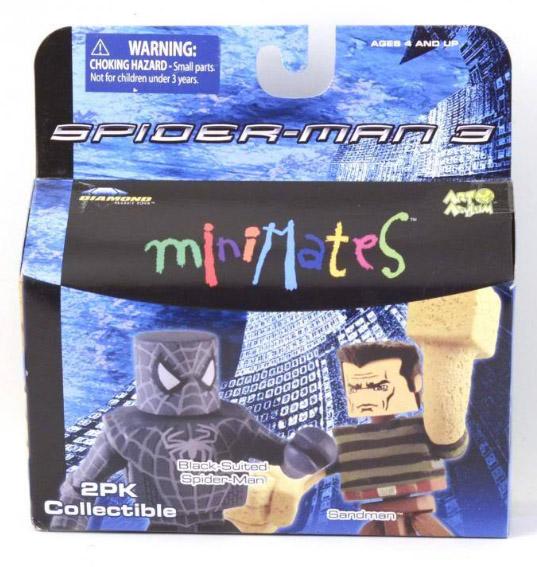 Black Suit Spidey & Sandman Marvel Minimates Series 17