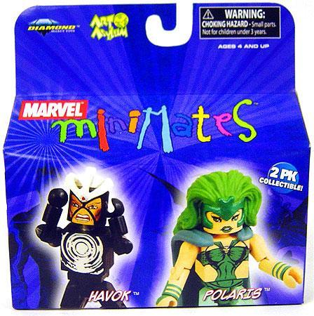 Polaris & Havok Marvel Minimates Series 20- LOOSE ONLY