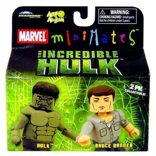 Hulk & Bruce Banner Marvel Minimates Series 22