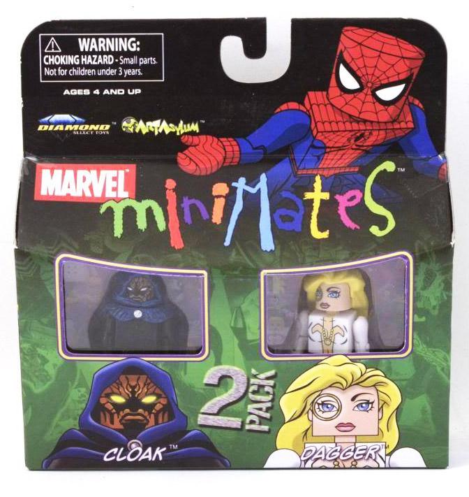 Cloak & Dagger Marvel Minimates Series 23