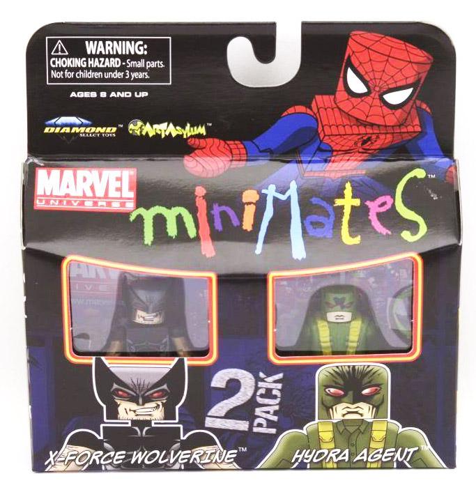 X-Force Wolverine & Hyrda Agent Marvel Minimates Series 29