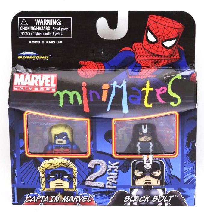 Captain Marvel & Black Bolt Marvel Minimates Series 31
