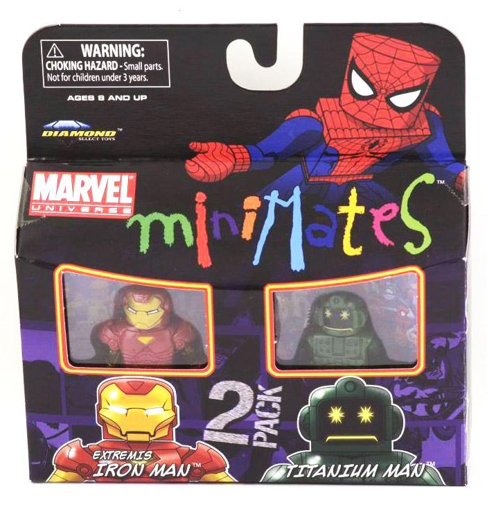 Iron Man & Titanium Man Marvel Minimates Series 32