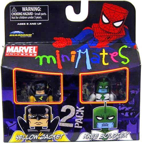 Yellow Jacket & Kree Soldier Marvel Minimates Series 32