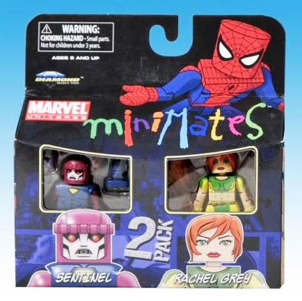 Sentinel & Rachel Grey Marvel Minimates Series 33
