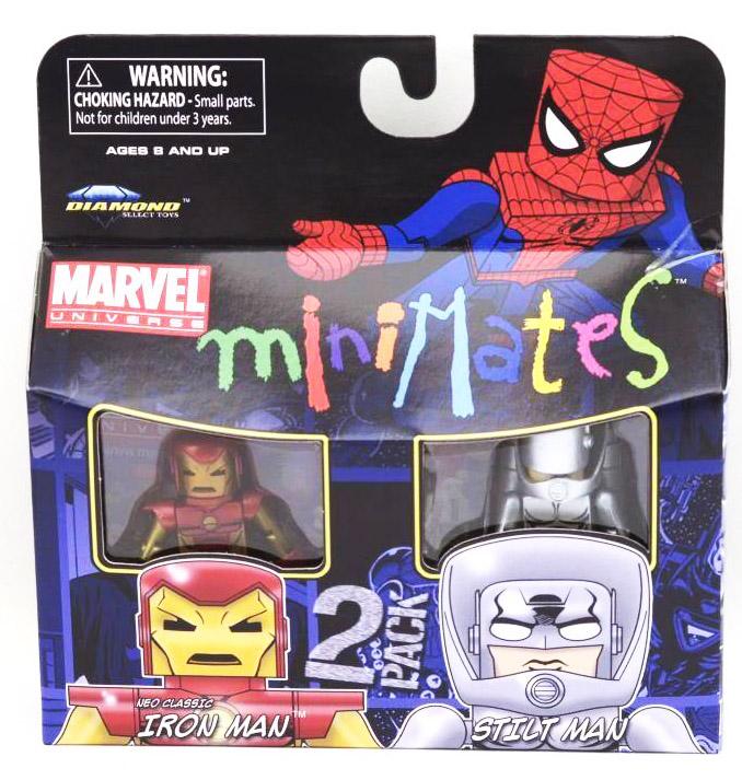 Neo Classic Iron Man & Stilt Man Marvel Minimates Series 36