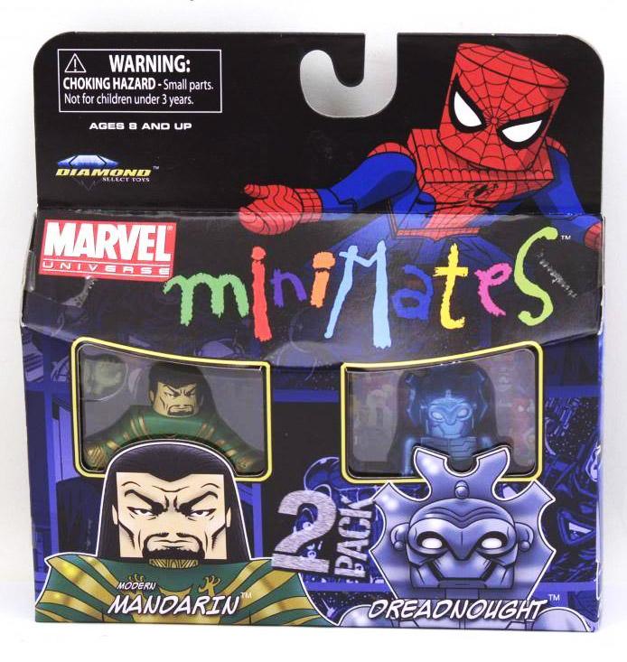 Modern Mandarin & Dreadnought Marvel Minimates Series 36