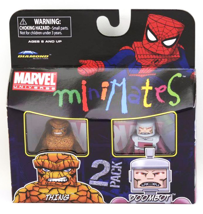 Thing & Doombot Marvel Minimates Series 37