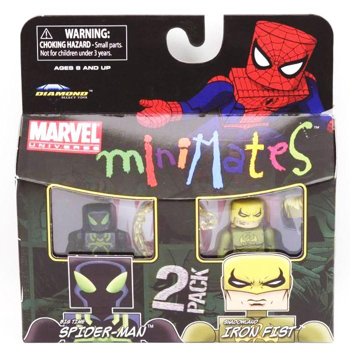 Big Time Spider-Man & Shadowland Iron Fist Marvel Minimates Series 38