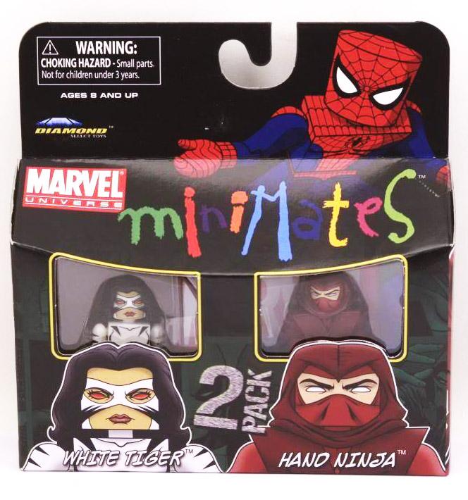 White Tiger & Hand NinjaMarvel Minimates Series 38