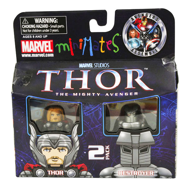 Thor & Destroyer Marvel Minimates Series 39