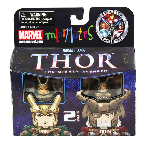 Loki & Odin Marvel Minimates Series 39