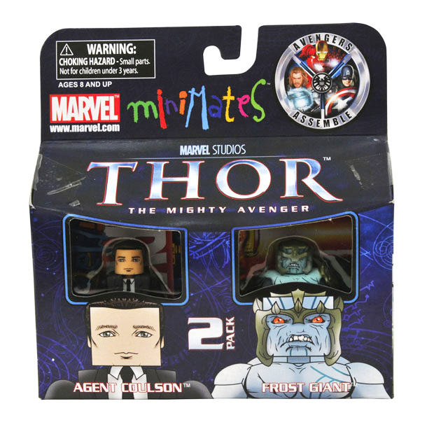 Agent Coulson & Frost Giant Marvel Minimates Series 39