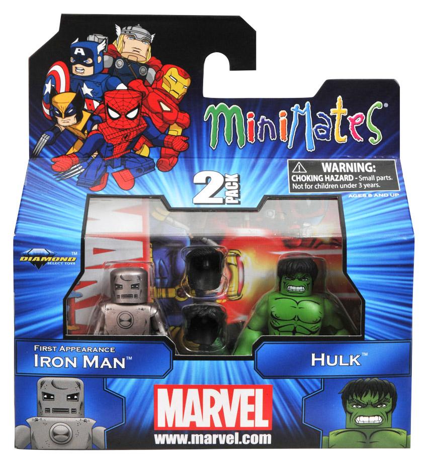 1st Appearance Iron Man & Hulk Marvel Minimates Series 41