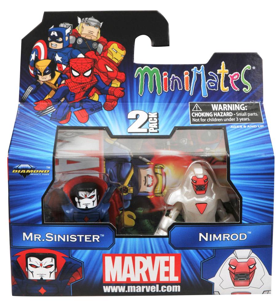 Nimrod & Mr. Sinister Marvel Minimates Series 41
