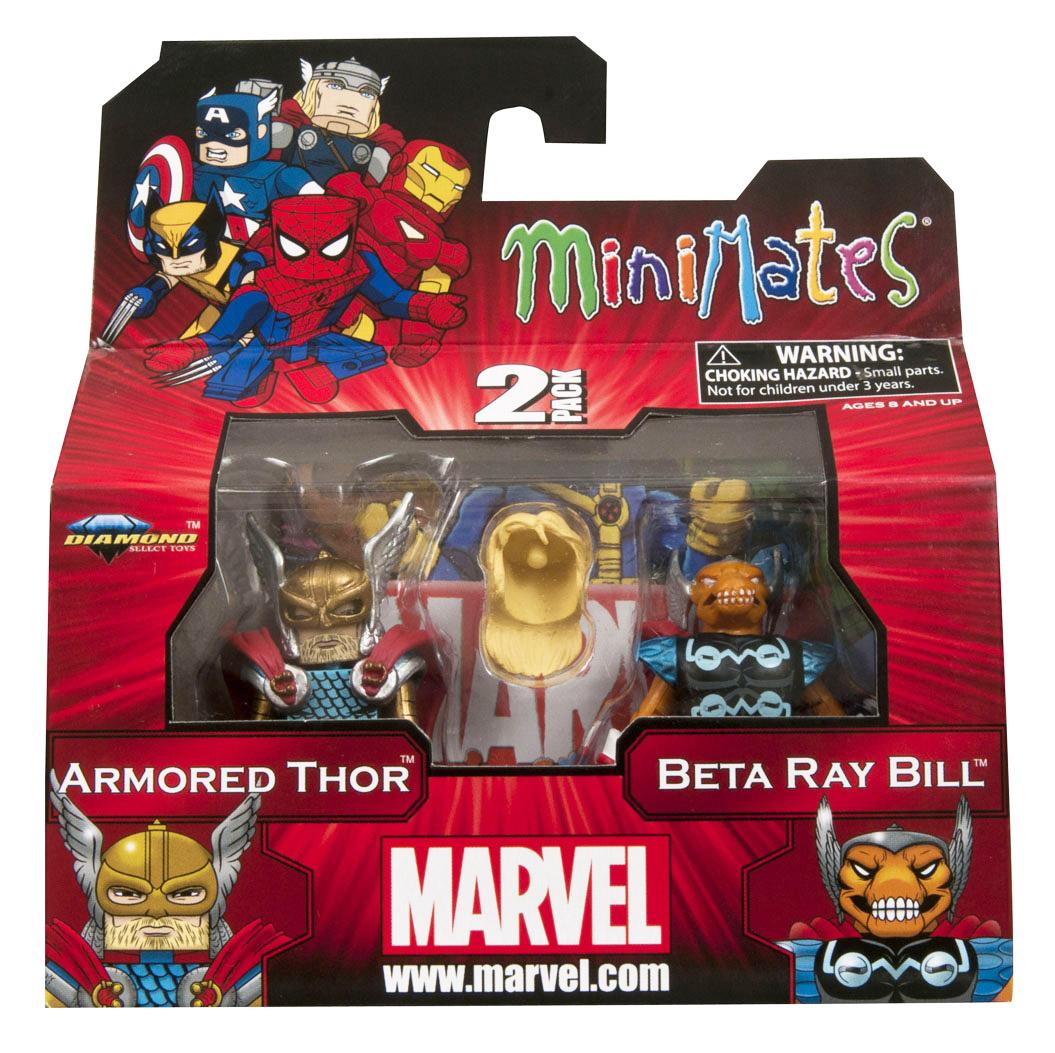Armored Thor & Beta Ray Bill Marvel Minimates Series 42