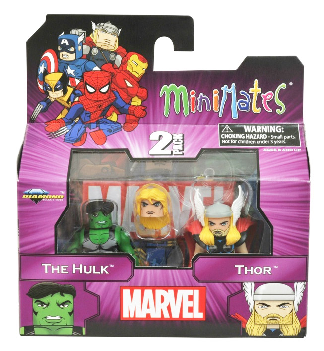 The Hulk & Thor Marvel Minimates Series 44