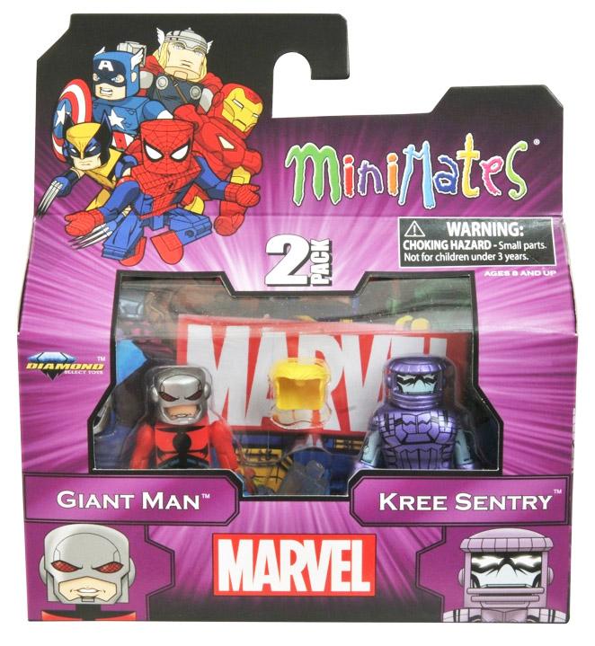Giant Man & Kree Sentry Marvel Minimates Series 44