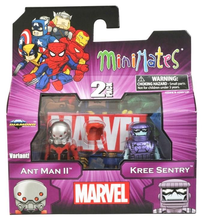 Ant Man II Variant & Kree Sentry Marvel Minimates Series 44