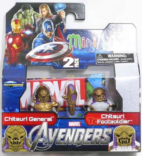 Avengers Chitauri General & Chitauri Soldier Marvel Minimates Series 45