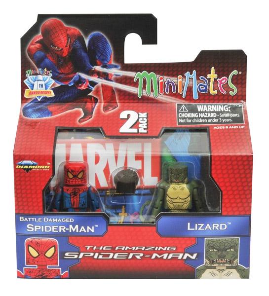 Spider-Man & Lizard Marvel Minimates Series 46