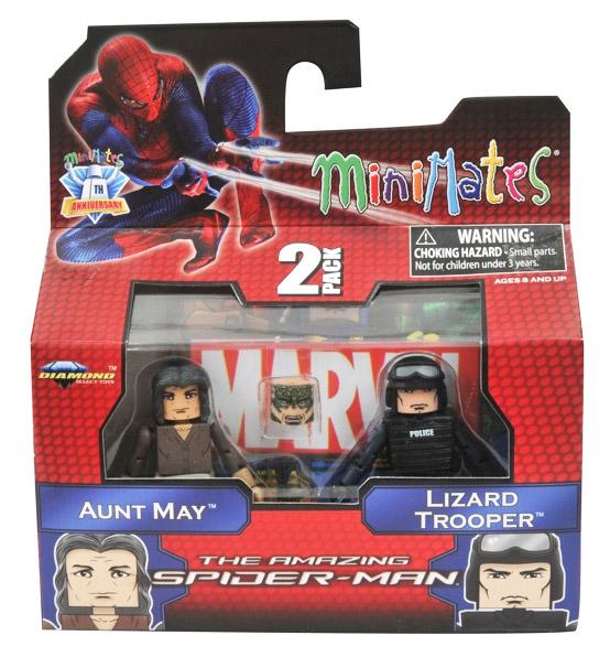 Lizard Trooper & Aunt May Marvel Minimates Series 46