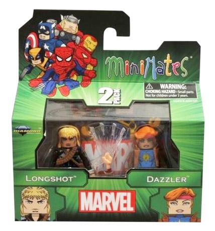 Longshot & Dazzler Marvel Minimates Series 47
