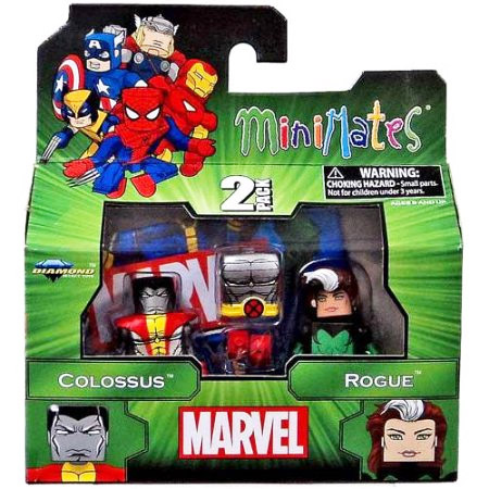 Colossus & Rogue Marvel Minimates Series 47