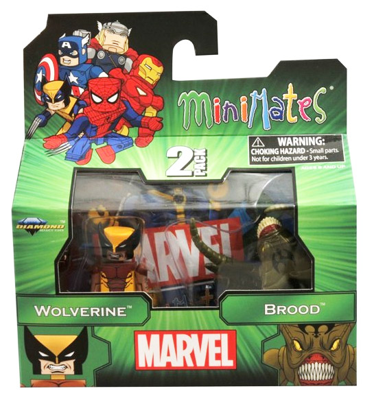 Wolverine & Brood Marvel Minimates Series 47