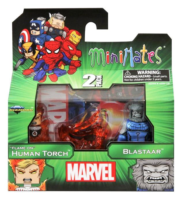 Human Torch & Blastaar Marvel Minimates Series 48