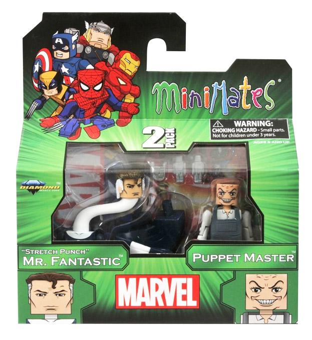 Mr. Fantastic & Puppet Master Marvel Minimates Series 48