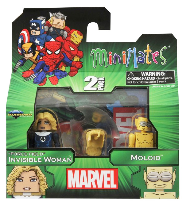 Invisible Woman & Moloid Marvel Minimates Series 48
