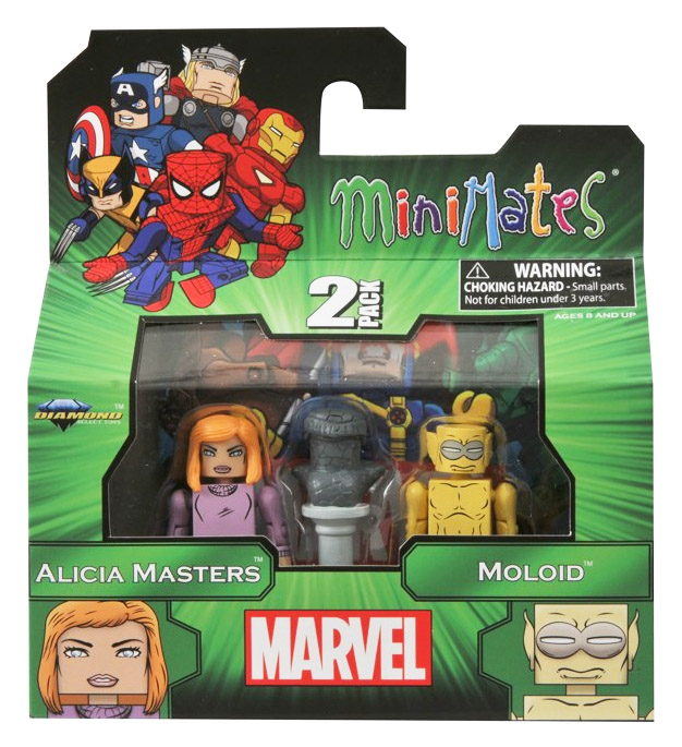 Alicia Masters & Moloid Marvel Minimates Series 48