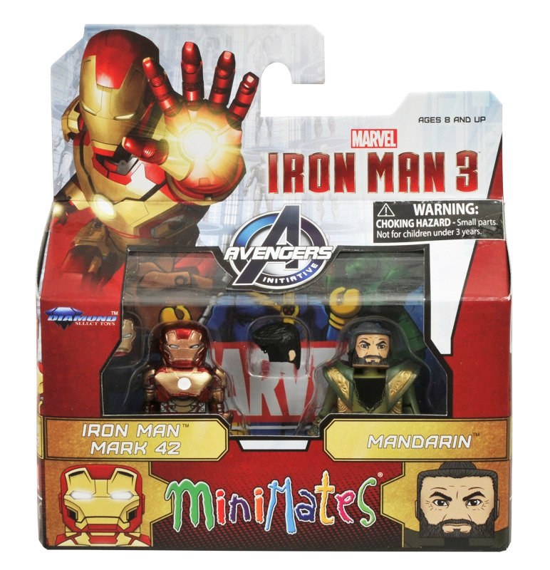 Iron Man Mark 42 & Mandarin Marvel Minimates Series 49