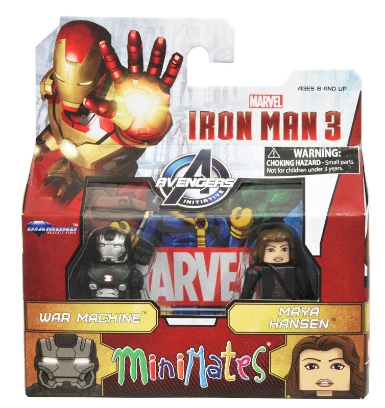 War Machine & Maya Hansen Marvel Minimates Series 49