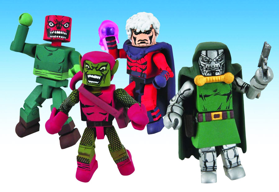 Marvel Villains Bring On The Bad Guys! Minimates Box Set