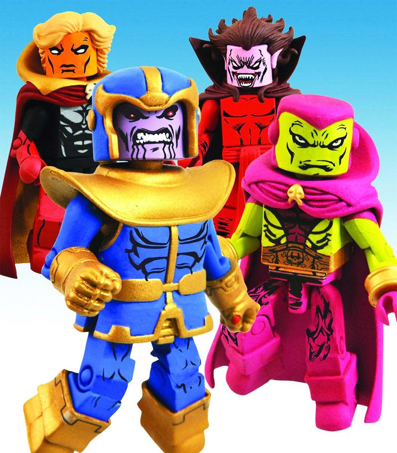 The Infinity Gauntlet Marvel Minimates Box Set