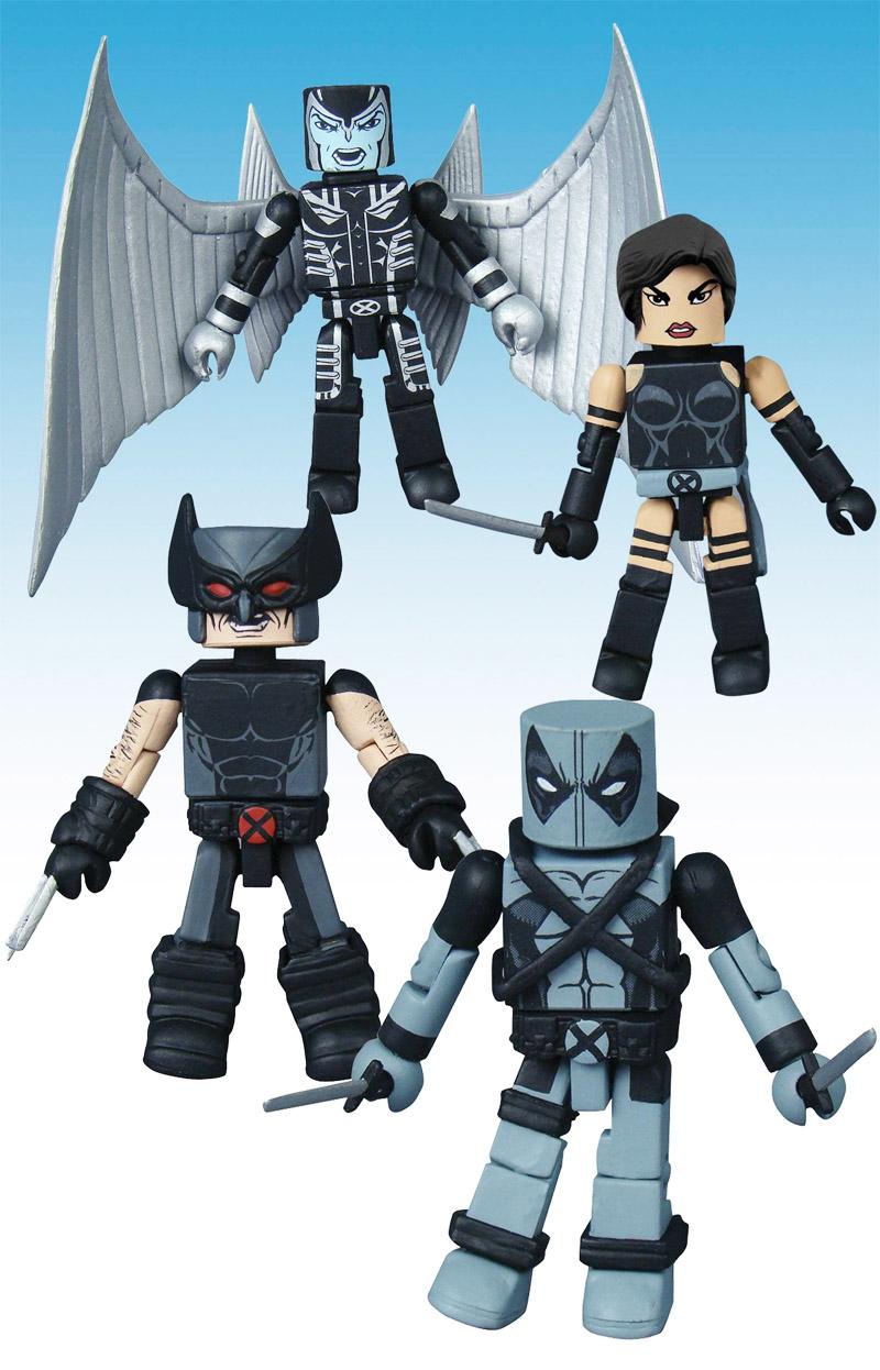 Uncanny X-Force Marvel Minimates Box Set