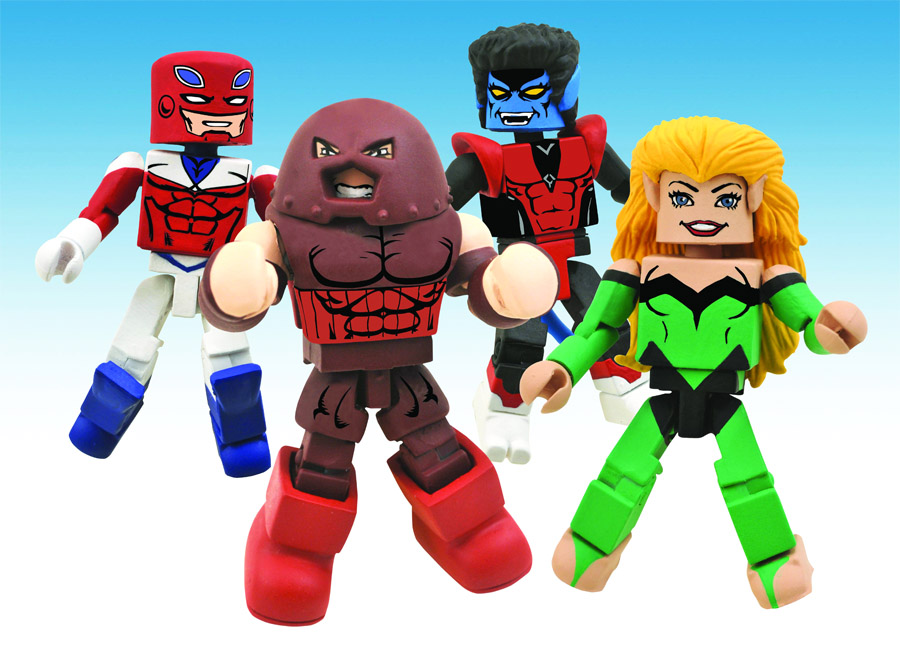 Excalibur Marvel Minimates Box Set