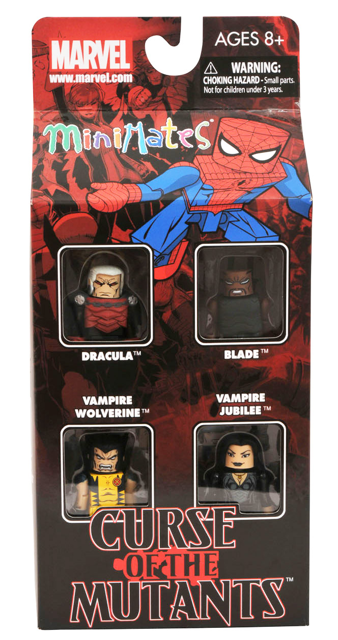 Curse of the Mutants Marvel Minimates Box Set