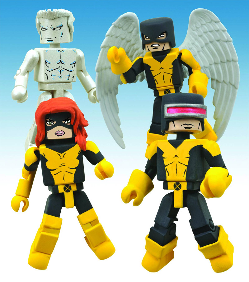 X-Men First Class Marvel Minimates Box Set