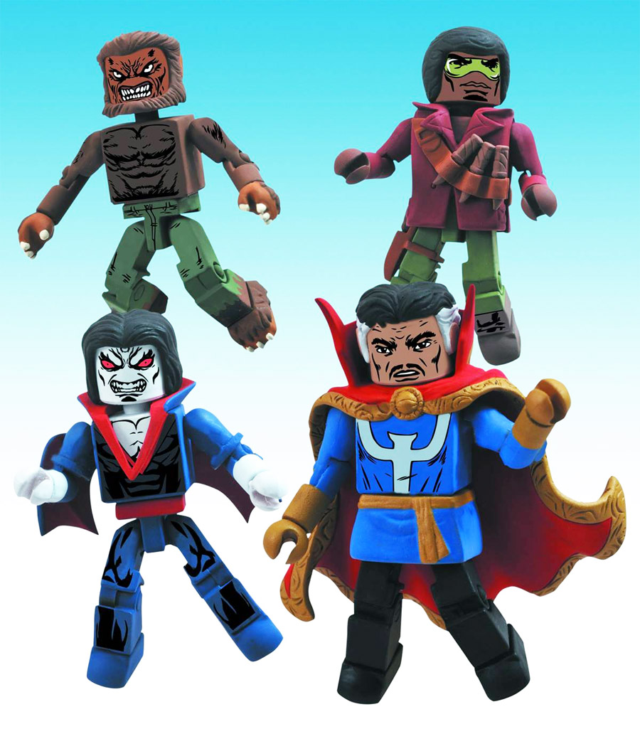Strange Tales Marvel Minimates Box Set