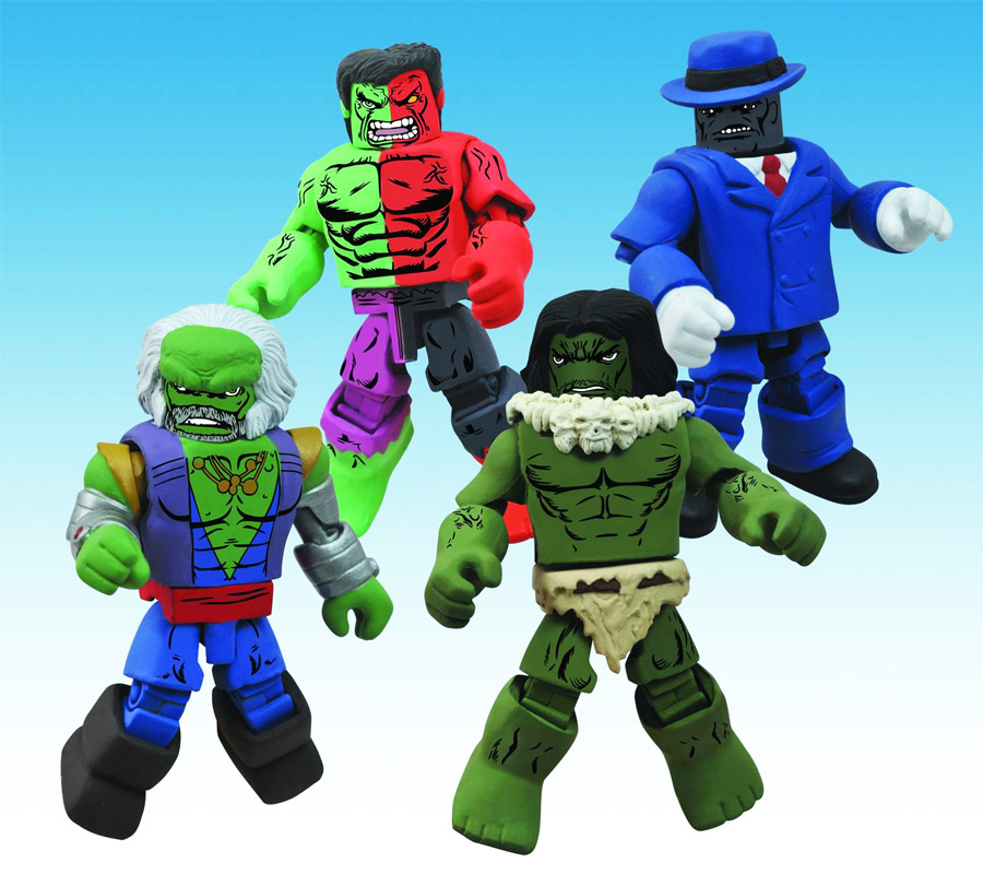 Incredible Hulk Through the Ages Marvel Minimates Box Set