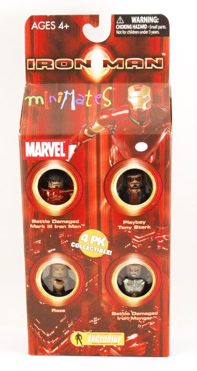 Iron Man Movie Hostile Takeover Marvel Minimates Box Set