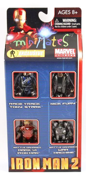 Iron Man 2 2010 C2E2 Exclusive Marvel Minimates Box Set