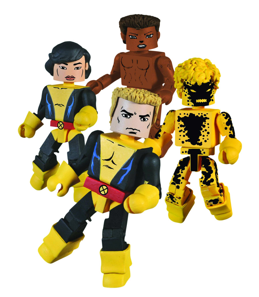 New Mutants 2010 NYCC Exclusive Marvel Minimates Box Set