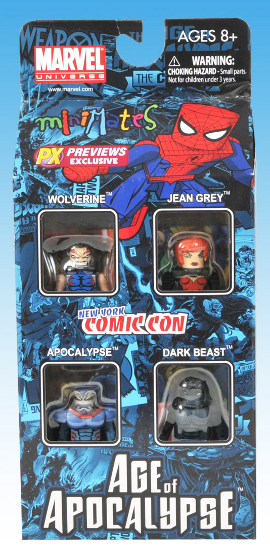 Age of Apocalypse #2 2010 NYCC Exclusive Marvel Minimates Box Set
